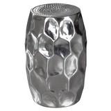 Beistelltisch D: ca. 30 cm Silberfarben - Silberfarben, LIFESTYLE, Metall (30/47/30cm) - Carryhome