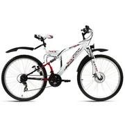 Mountainbike Mtb Fully 26'' Zodiac 574m - Basics, Metall (180/70cm)