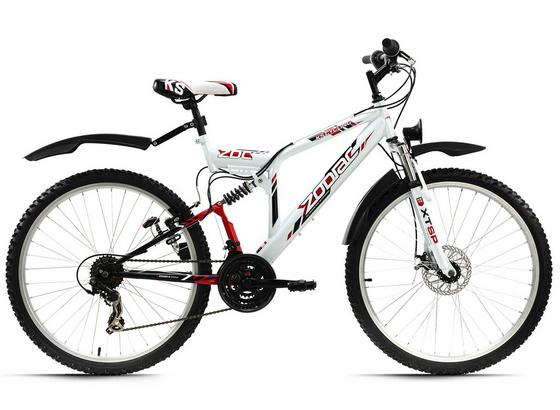 Mountainbike Mtb Fully 26'' Zodiac 574m - Basics, Metall (180/70cm)