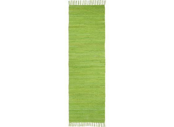 Koberec Flíčkový Julia - světle zelená, Konvenční, textil (70/230cm) - Mömax modern living