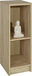 Regál 4-you Yur04 - Sonoma dub, Moderní, dřevěný materiál (30/85,5/35,2cm)
