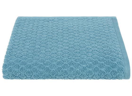 Handtuch Elena - Petrol, MODERN, Textil (50/100cm) - Luca Bessoni
