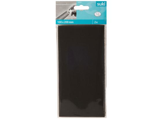 Filzzuschnitt 100x200 mm 2 Stück - Braun, Kunststoff (20/10/0,3cm) - Suki