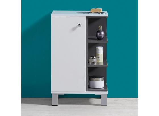 Skrinka Do Kúpeľne Bianco - Moderný, kov/drevo (37/60/38cm) - Mömax modern living