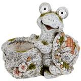 Dekoschildkröte Carlos - Braun/Grau, Basics, Kunststoff (37,5ml) - Ombra