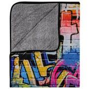Kuscheldecke Graffity - Multicolor, MODERN, Textil (130/160cm)