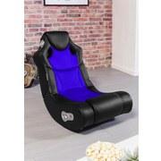 Gamingstuhl Booster B: 56 cm Schwarz/blau - Blau/Schwarz, Design, Textil (56/100/82cm) - Carryhome