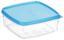 Frissentartó Doboz 0,3 Liter - Átlátszó/Kék, konvencionális, Műanyag (11/4,4/11cm)