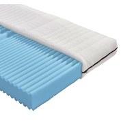 Komfortschaummatratze Flex H2 90x200 - Weiß, MODERN, Textil (200/90cm)