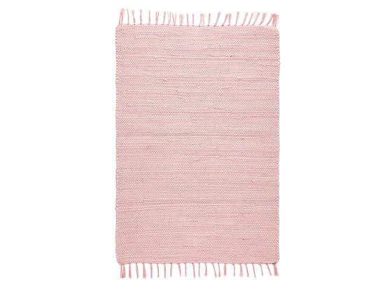 Hadrový Koberec Julia - růžová, Romantický / Rustikální, textil (70/230cm) - Mömax modern living