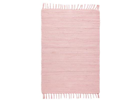 Plátaný Koberec Julia - ružová, Romantický / Vidiecky, textil (70/230cm) - Mömax modern living