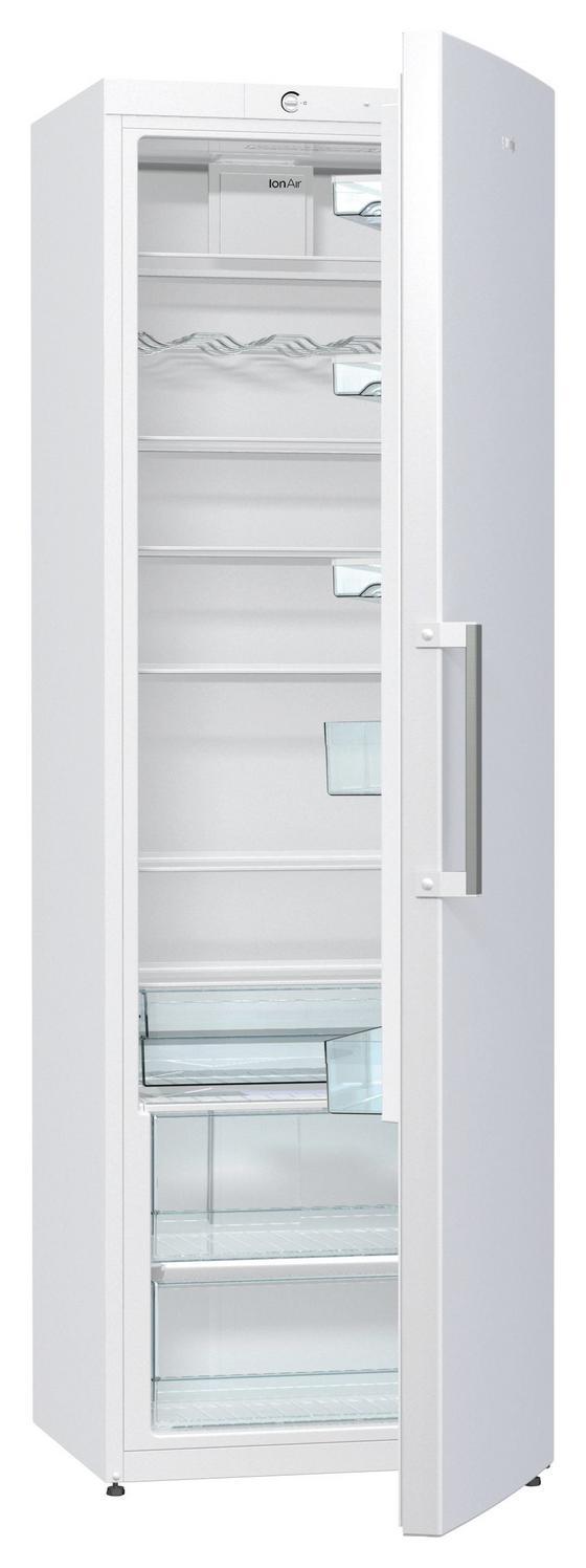 Gorenje Kühlschrank R6192fw - Weiß, KONVENTIONELL, Kunststoff (60/185/64cm) - Gorenje