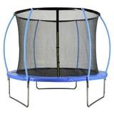 Trampolin Jump Blau D: 305 cm - Blau, MODERN, Kunststoff/Metall (305/256cm)