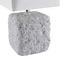 Stolová Lampa Lucy Max. 60 Watt - sivá, Štýlový, keramika (14,5/28/14,5cm) - Modern Living