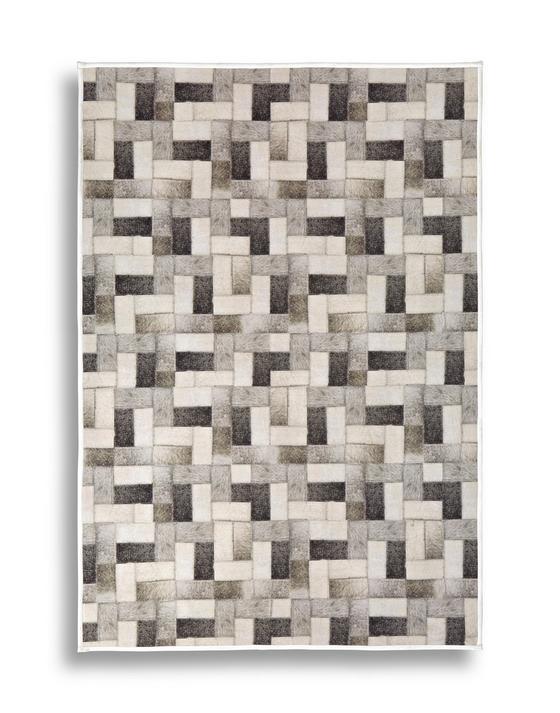 Teppich Lacy 80x150 cm - Braun, Textil (80/150cm) - Luca Bessoni