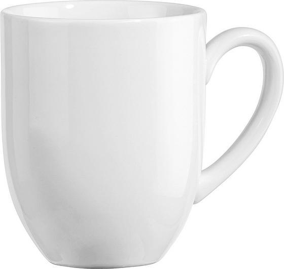 Kávéscsésze Felicia - fehér, konvencionális, kerámia (0,3l) - OMBRA