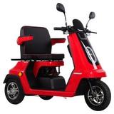 Eycos Seniorenmobil Papamobil - Rot, Basics, Kunststoff (152/69/100cm)