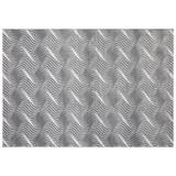 Webteppich Tyene - Hellgrau, MODERN, Textil (80/150cm) - Ombra