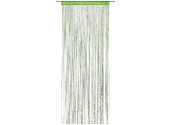 Záclona Provázková Victoria - zelená, textilie (90/245cm) - Mömax modern living