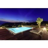 Schwimmbecken Kwad Pool Std - Weiß, Basics, Kunststoff (400/300/150cm)