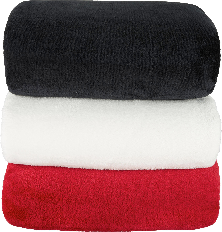 Deka Kuschelix - černá, textil (140/200cm)
