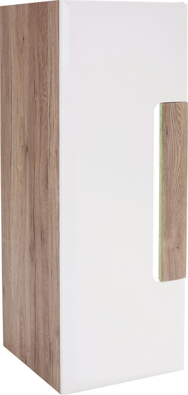 Függesztett Elem Toronto - Tölgyfa/Fehér, modern, Faalapú anyag (44,9/114,5/35,2cm) - Ombra