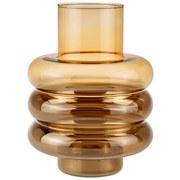 Vase Callistus - Braun, Trend, Glas (18/24cm) - Luca Bessoni