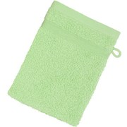 Waschhandschuh Braga - Grün, MODERN, Textil (16/21cm) - LUCA BESSONI