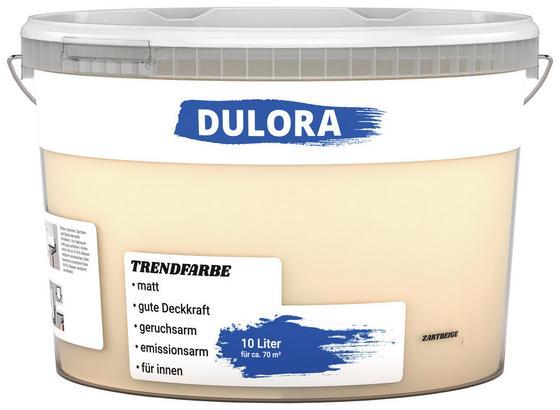 Wandfarbe 10 Liter Zartbeige - Beige (10l) - Dulora
