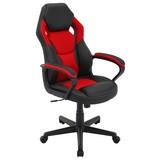 Gamingstuhl Manta B: 60 cm Rot/Schwarz - Rot/Schwarz, MODERN, Kunststoff/Textil (60/103/65cm) - MID.YOU