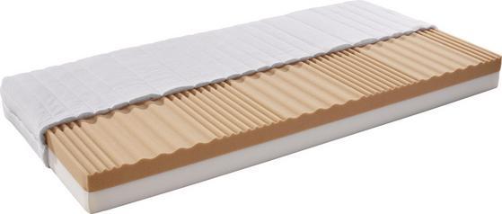 Matratze mit Kaltschaum-Sandwich-Kern