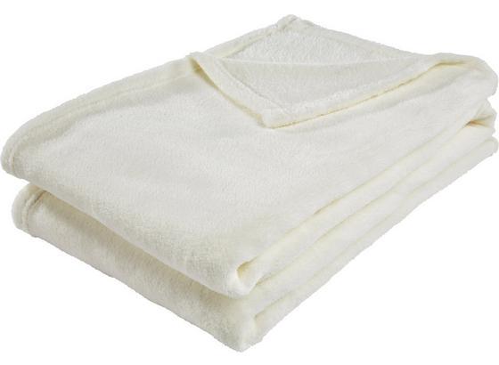 Měkká Deka Kuschelix - bílá, textil (140/200cm)