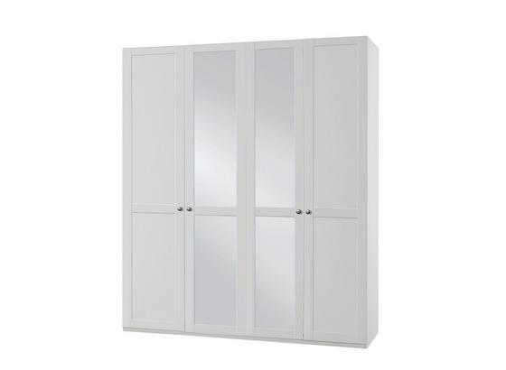 Skříň New York B - bílá, Lifestyle, kompozitní dřevo (180/234/58cm)