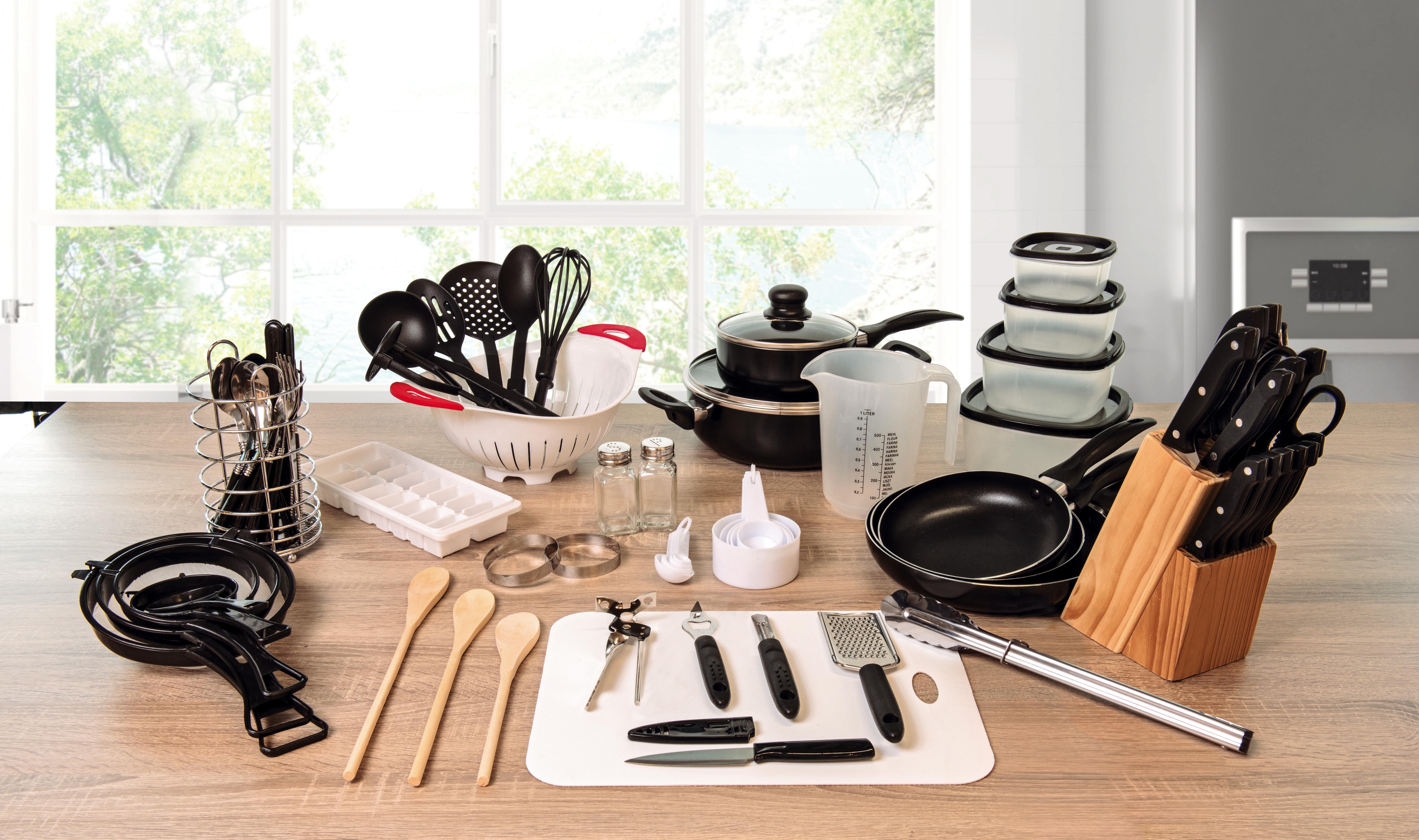 Komplettes Küchen-Starterset mit 17 Teilen