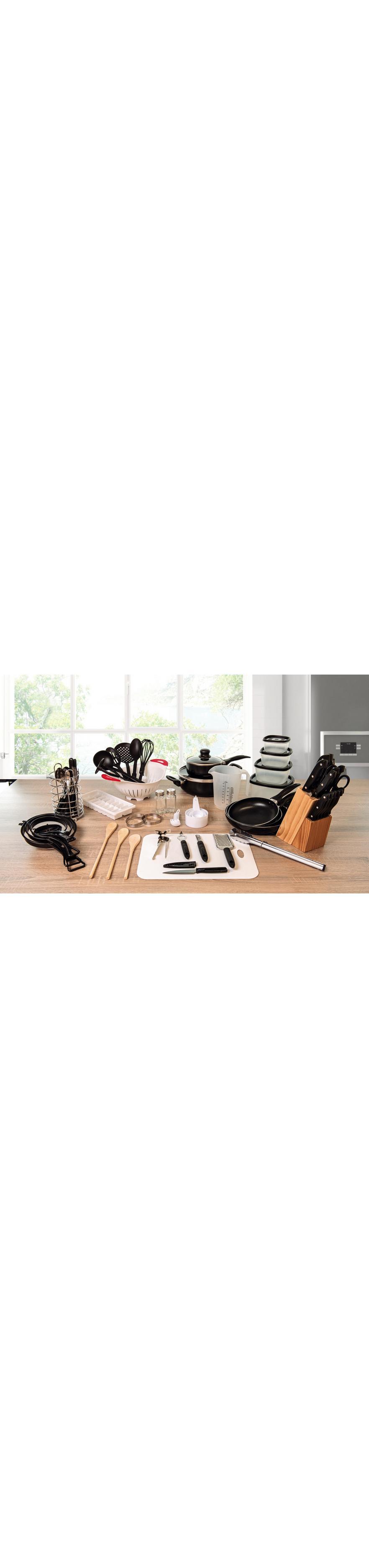 Küchen-Starterset 17 teilig