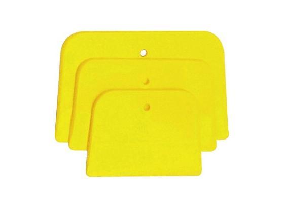 Karosseriespachtel 3er Set - Gelb, KONVENTIONELL, Kunststoff (6.10.12cm) - Gebol