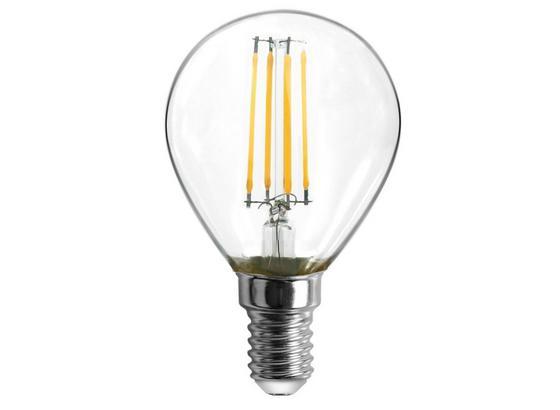 Led Žiarovka 10585-2k, E14, 4 Watt - číre, kov/sklo (4,5/8cm)