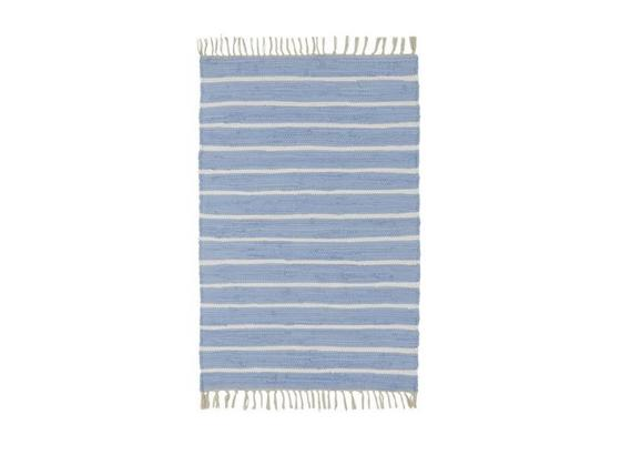 Ručně Tkaný Koberec Toni 1 - modrá, Moderní, textil (60/120cm) - Mömax modern living