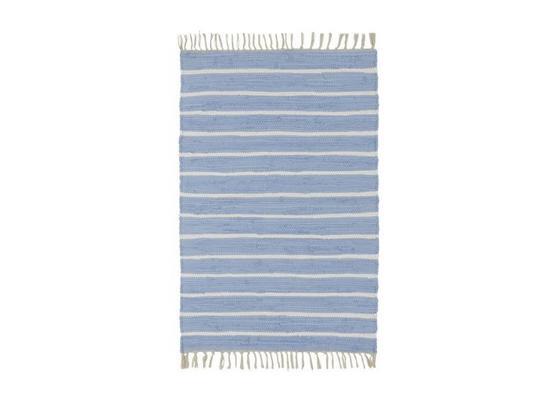 Ručné Tkaný Koberec Toni 1 - modrá, Moderný, textil (60/120cm) - Mömax modern living