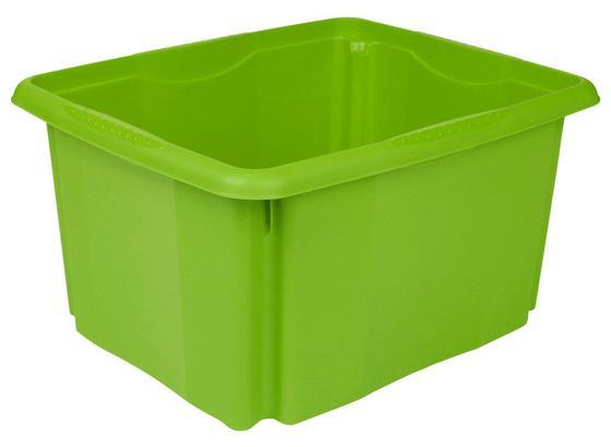 Box Emil - Grün, KONVENTIONELL, Kunststoff (41/34,5/22cm)