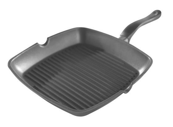 Grilovací Pánev 'amadeus' - černá, Konvenční, kov (28/28cm) - Mömax modern living
