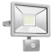 LED-Sicherheitsleuchte Dob30 - Silberfarben, MODERN, Metall (10,5/22,5/19,5cm)