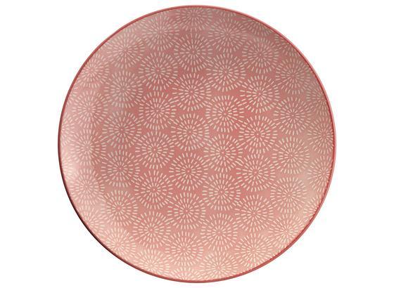 Speiseteller Nina In Rosa Ø Ca. 26,5cm - ružová, keramika (26,5cm) - Mömax modern living