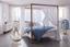Záves S Pútkami Cenový Trhák - biela, textil (140 245 cm) - Based