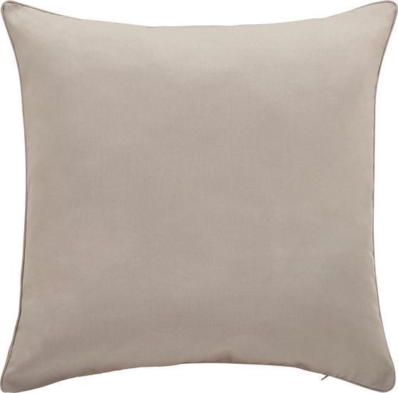 Povlak Na Polštář Steffi Paspel - světle šedá, textil (50/50cm)