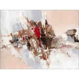 Keilrahmenbild Elemente I - Multicolor, Holz/Holzwerkstoff (84/2,4/116cm)