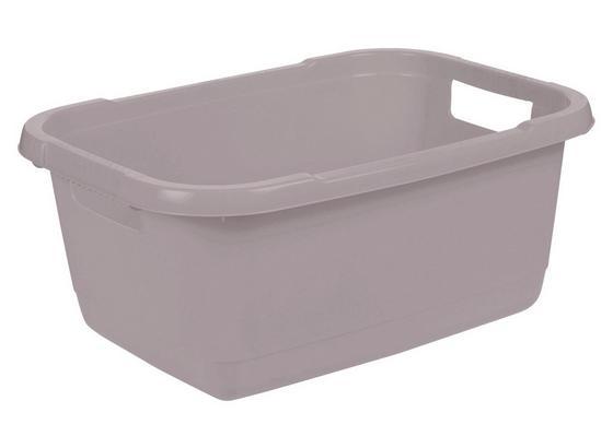 Wäschekorb Aenna - Grau, KONVENTIONELL, Kunststoff (55/40/23cm)