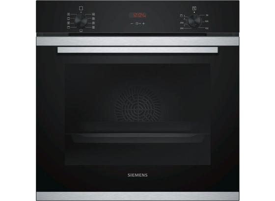 Vstavaná Rúra Na Pečenie Hb214abr0 - čierna/farby ušľachtilej ocele, Moderný, kov/sklo (59,4/59,5/54,8cm) - Siemens