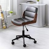 Otočná Židle Britta - černá/tmavě šedá, Moderní, kov/dřevo (47/73-81/48cm) - Modern Living
