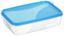 Frischhaltedose 0,75 Liter - Blau/Rot, KONVENTIONELL, Kunststoff (12/5/18cm)